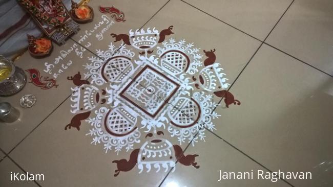 Rangoli: 2017-Golu-4-Vijayadashami
