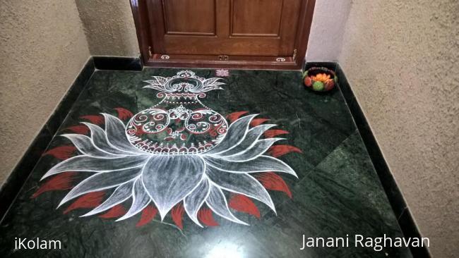 Rangoli: 2017-Varalakshmi Vratam-1