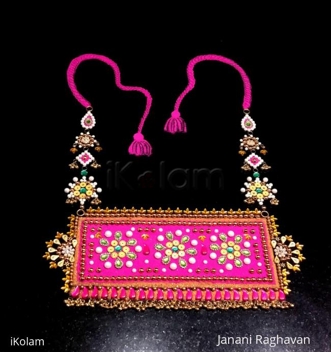 Rangoli: 2018- Radha Ashtami- A choker necklace for the Queen of Love...