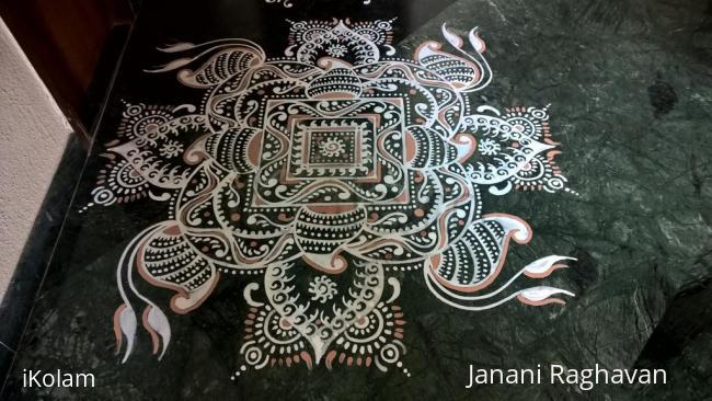 Rangoli: 2016-Durga Namaskaram Pooja-Sandhy's place-1