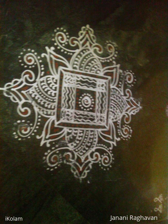 Rangoli: Home basic kolams-11