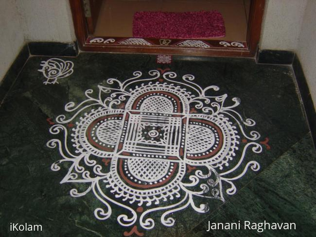 Rangoli: 2010- Naratri- 1