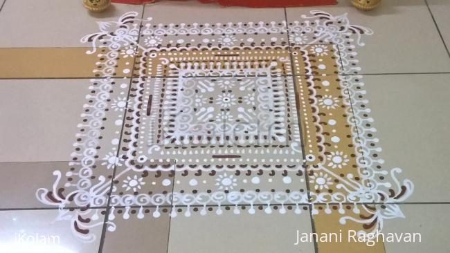 Rangoli: 2016-Soundaryalahiri Saptaha-3