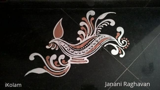 Rangoli: 2016-Varalakshmi Vratam-Hema's place-2