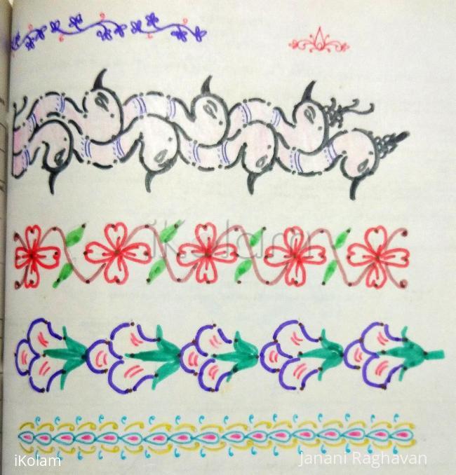 Rangoli: Kolam Notebook Kolams- 90