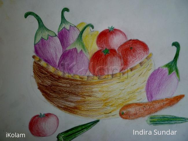 Rangoli: Vegetable Basket
