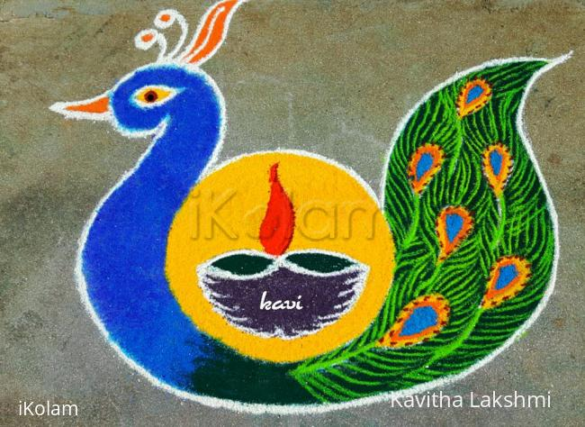 Rangoli: Lovely peacock