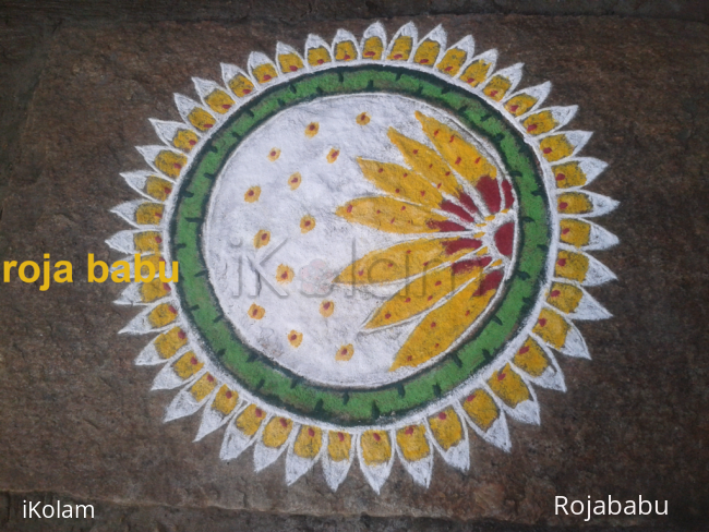 Rangoli: Thai poosam kolam