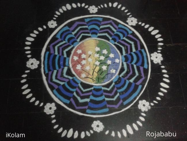 Rangoli: lovely lively rangoli