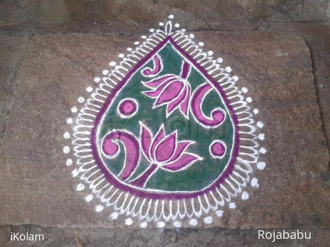Rangoli: Margali roangoli 2