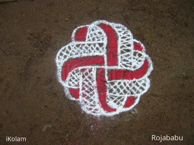 Rangoli: swastik7