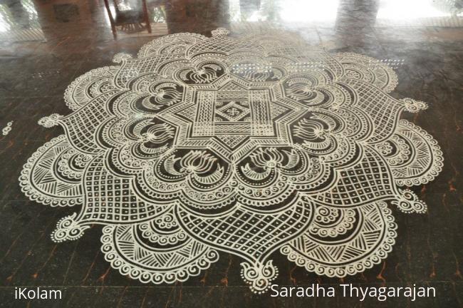 Rangoli: kalyana kolam 2