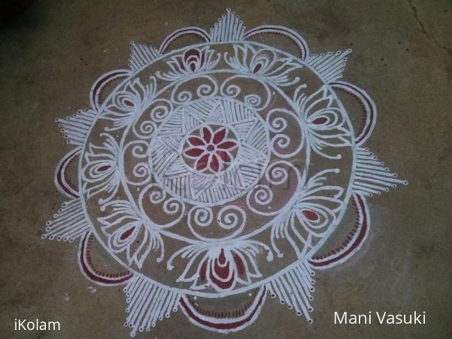 Rangoli: Freehand design