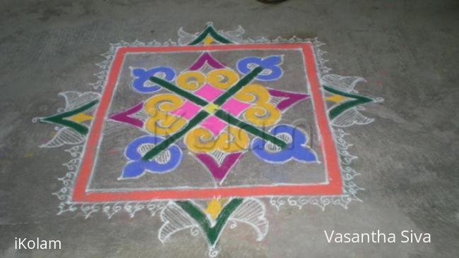 Rangoli: Margazhi Velli malar