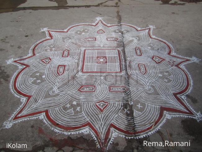 Rangoli: kalyana kolam