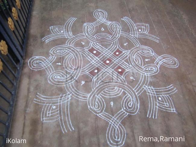 Rangoli: kalyanakolam