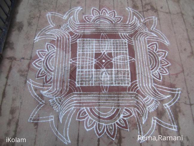 Rangoli: Design kanya kolam