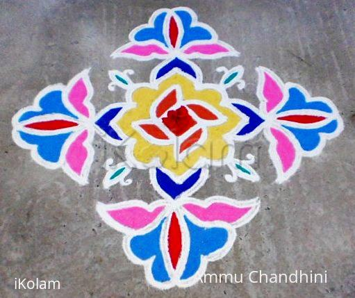 Rangoli: Margazhi kolam on road-1