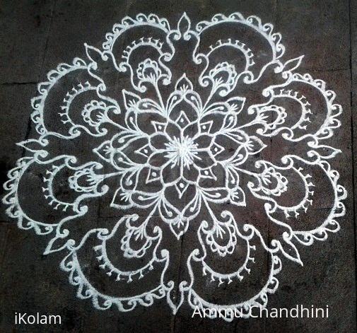 Rangoli: Diwali kolam-1