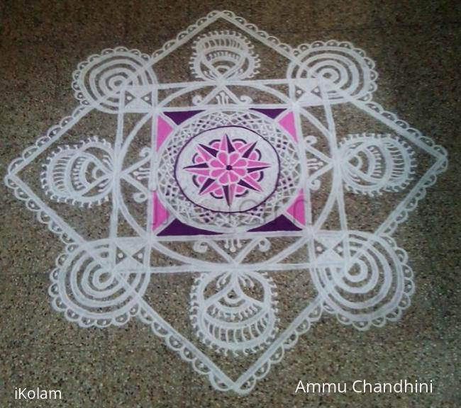 Rangoli: Happy birthday ikolam