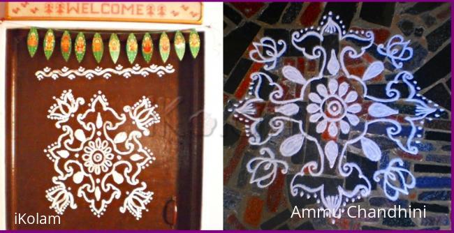 Rangoli: Door rangoli