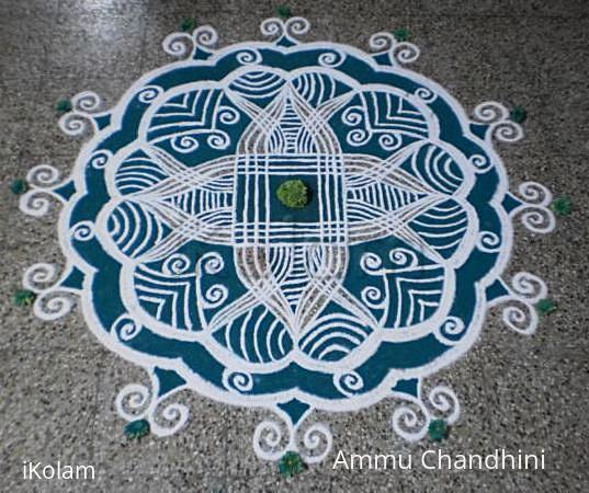 Rangoli: Navrathri day-4