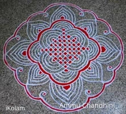 Rangoli: Indoor Kolam