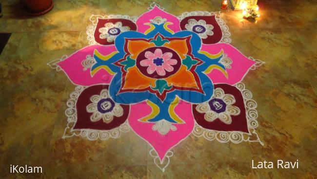 Rangoli: Diwali Rangoli 2011