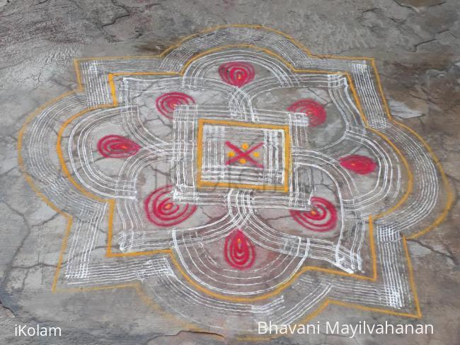 Rangoli: Summer Vacation kolams 2