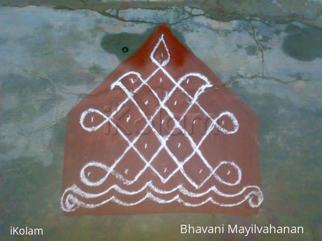Rangoli: margazhi(11)-dotted