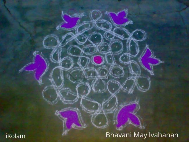 Rangoli: Dotted(MArgazhi6)
