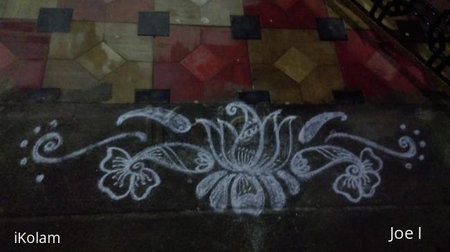 Rangoli: Lotus to beginers