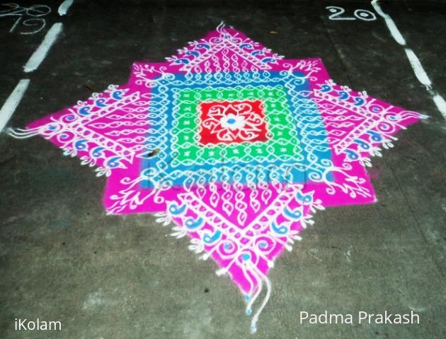 Rangoli: Competition Kolam