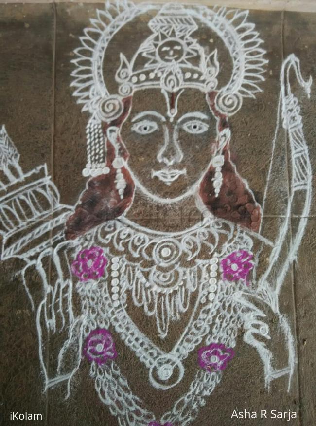 Rangoli: Sri Ramanavami