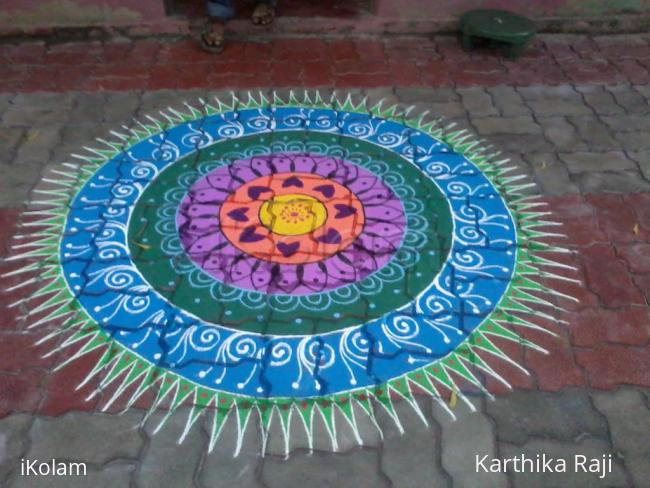 Rangoli: For competition