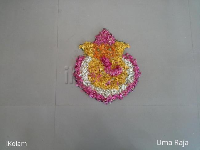 Rangoli: onam 1