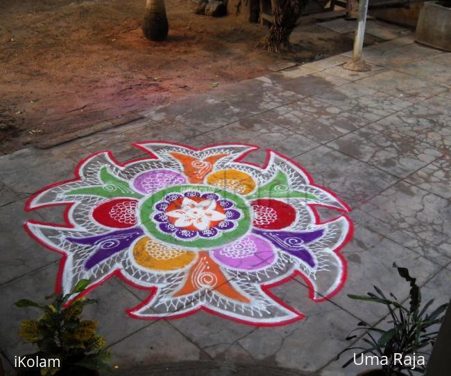 Rangoli: happy bday rani :)