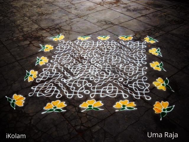 Rangoli: friday flowers