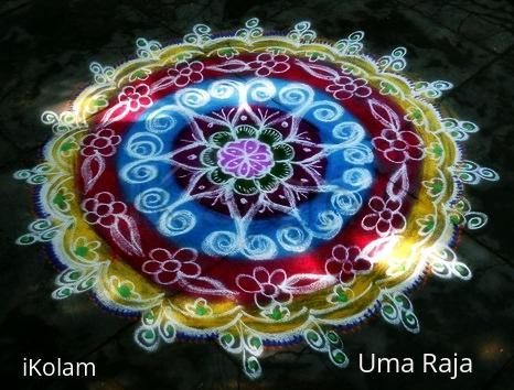 Rangoli: happy muharram