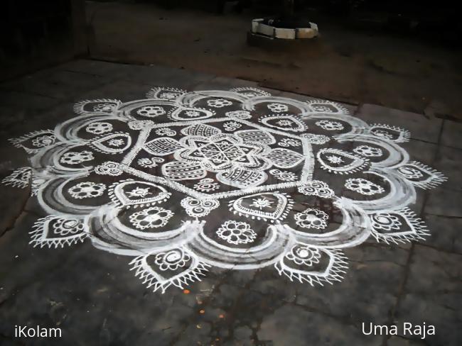 Rangoli: marghali 19