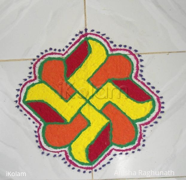 Rangoli: Navaratri rangoli