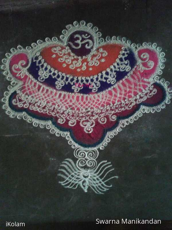 Rangoli: Margazhi 2014-2015: Day27::FreehandRangoli