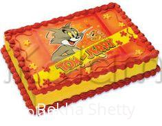 Rangoli: sending eggless cake to my friends(TOMS)