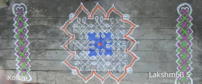 Rangoli: pulli vachha kolam