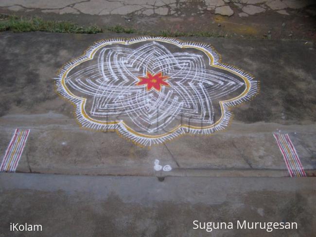 Rangoli: margazhi kolam3