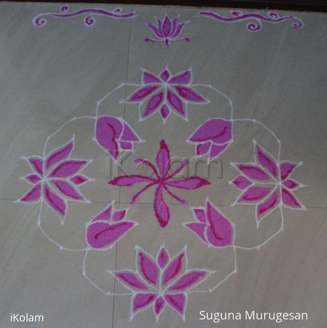 Rangoli: navarathri kolam 2