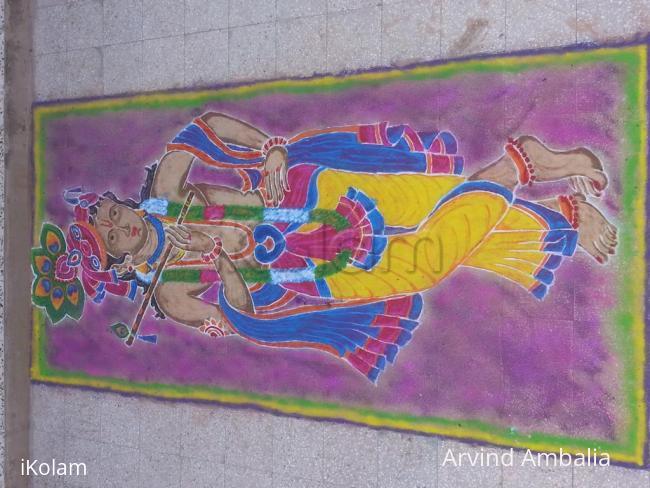 Rangoli: Diwali Rangoli 2015
