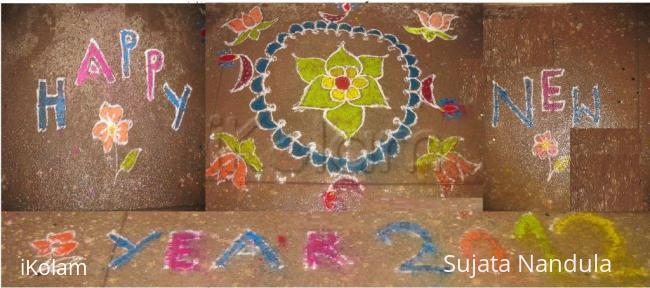 Rangoli: Wish u a very happy new year 2012