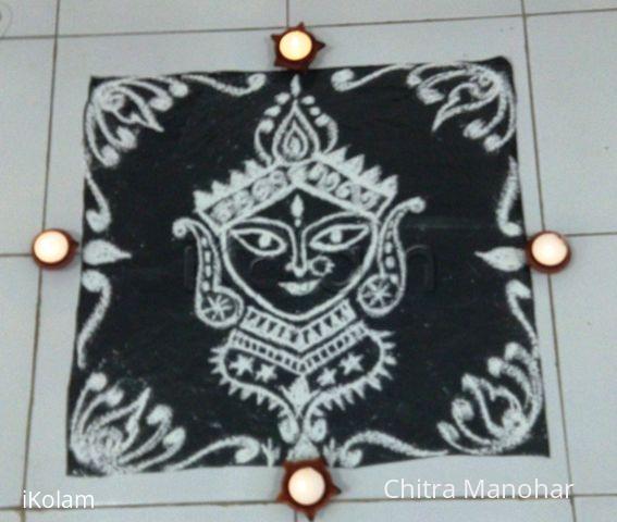 Rangoli: Happy Navrathri