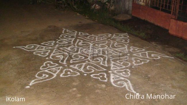 Rangoli: Sanku kolam